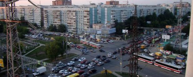 Сегодня ночью в Самаре перекроют Московское шоссе