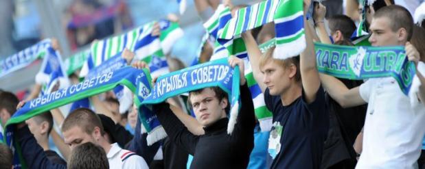 Более 10 фанатов задержали после матча «Крылья Советов» - «Волга»