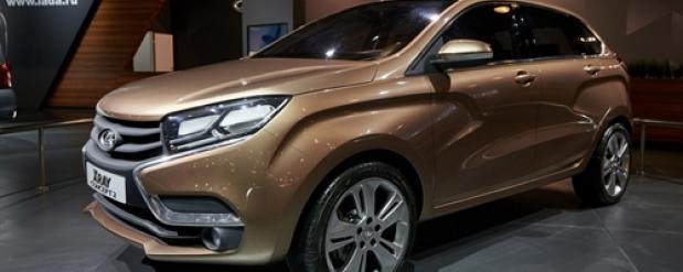 """Lada Xray получит уникальный цвет под названием """"Пума"""""""
