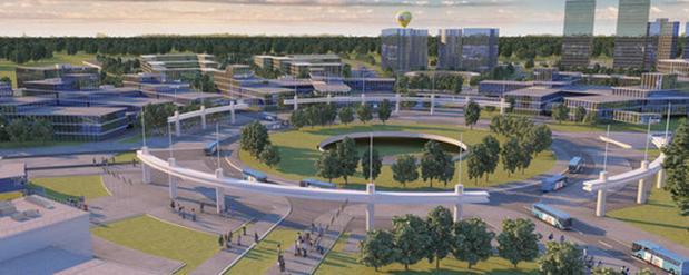 """В Самаре собираются возвести 87-этажный небоскреб в технополисе """"Гагарин-центр"""""""