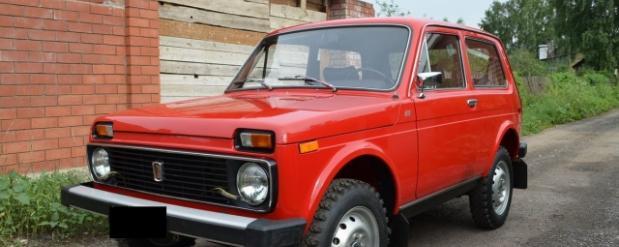 """В Тольятти продают автомобиль марки """"Нива"""" 1980 года за 5 миллионов рублей"""