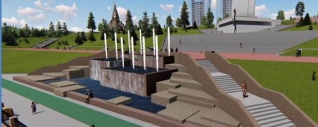Новый фонтан на четвертой очереди набережной в Самаре станет самым большим в России