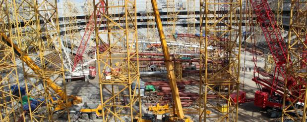 """Стадион """"Самара Арена"""" скоро начнут накрывать куполом"""