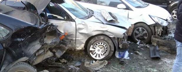 Массовое ДТП в Самаре устроил нетрезвый водитель иномарки
