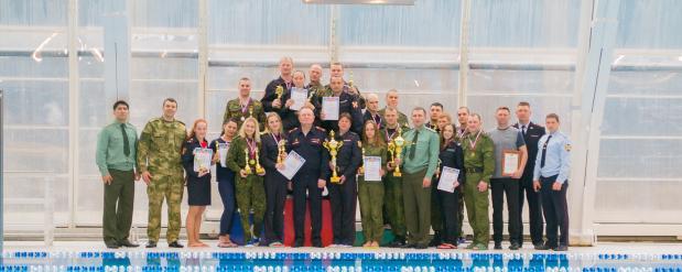 Представители региональной Росгвардии в первой тройке чемпионата по плаванию ПФО