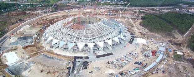 Стадион «Самара Арена» ждет первых болельщиков