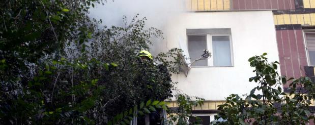 Самарский участковый героически потушил пожар