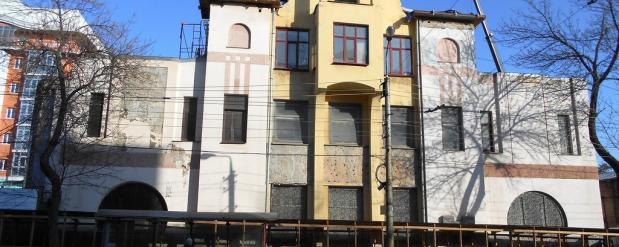 В исторической части города реконструкция