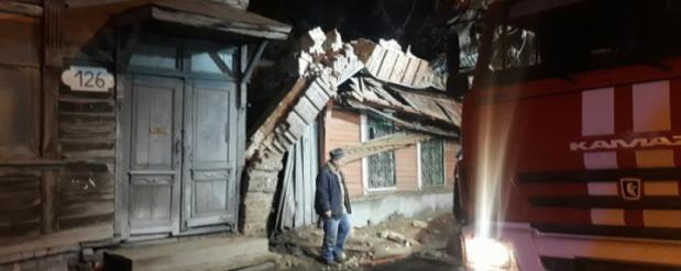 В Самаре в многоквартирном доме произошел взрыв газа.