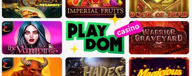 Playdom casino. Играем в новые автоматы
