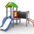Игровая зона во дворе для ваших детей